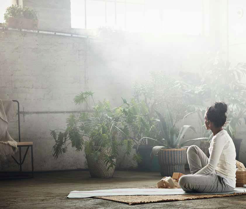 HJÄRTELIG постелка за йога от IKEA