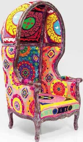 Стол с подлакътници Wildlife Zebra от КАRE