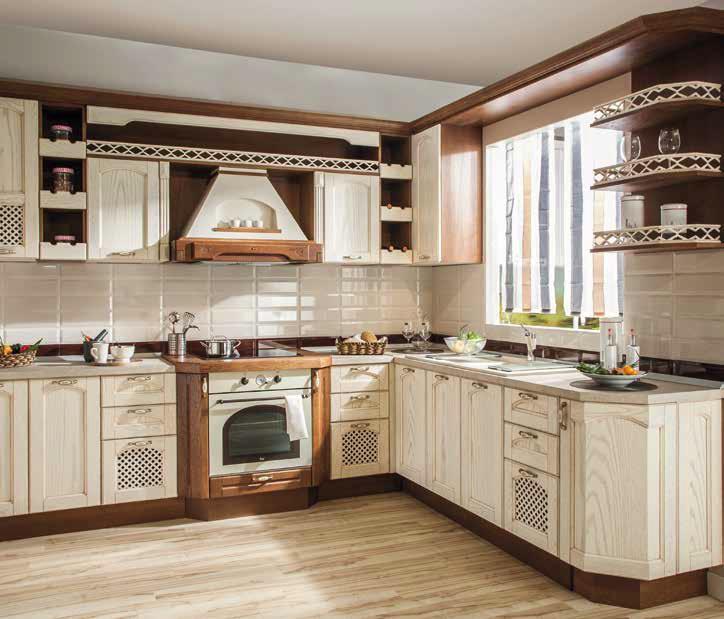 Кухня от масив Еником М