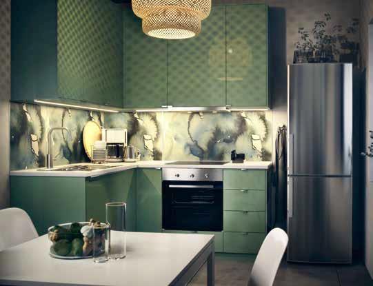 Кухня Metod/Kallarp от IKEA